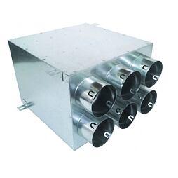 Rozváděcí box pro rekuperaci přímý EF-6x75/160