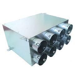 Rozváděcí box pro rekuperaci přímý EF-8x75/160