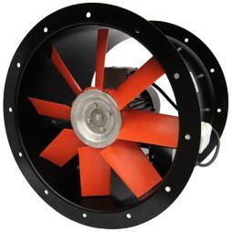 Axiální potrubní ventilátor K355/4100D, K355/0,25-4/6/SW