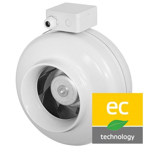 Potrubní ventilátor RS 315/1990 EC, RS 315L EC