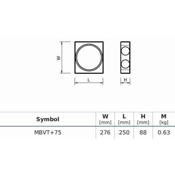 MBVT+75 Základní modul