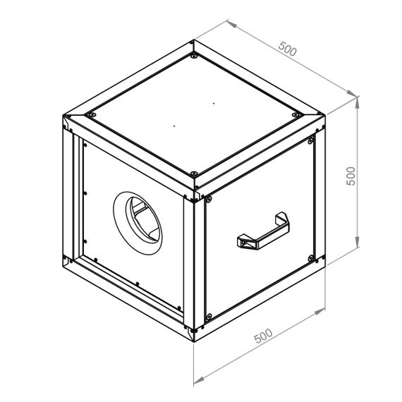 Odtahový ventilační box MPC T 315/4230, MPC 315 E2 T21