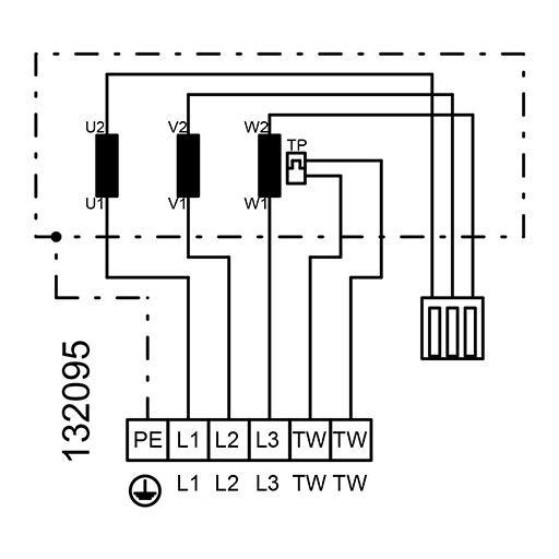 Radiální ventilátor KVR 8050/9120, KVR 8050 D4 30